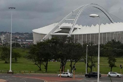 1/32 - View from Main Bedroom - Moses Mabhida Stadium - 5 / 10 mins Walk