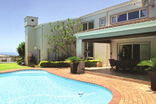 1/20 - Pool and Barbeque Area with seaviews