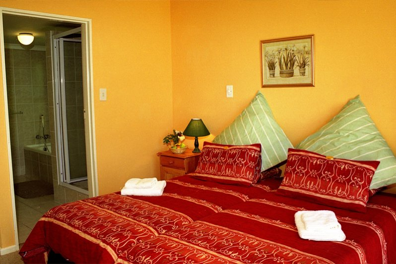 Double rooms have either king-sized, double or twin beds