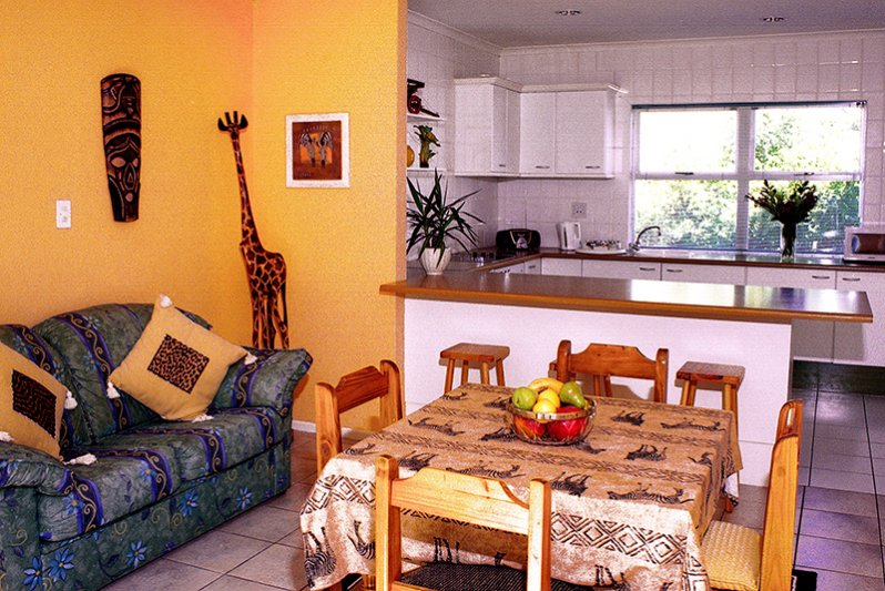2 x fully equipped self-catering guest kitchens