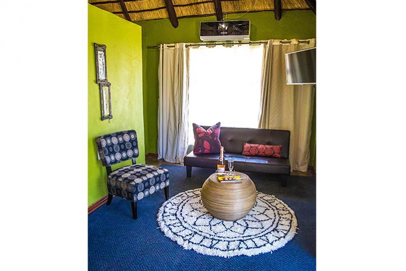 Superior Room Sitting/Sleeper Area