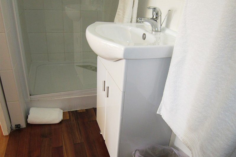 ETIENNE bathroom with shower