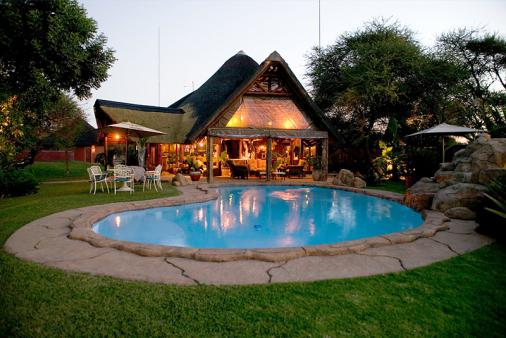 View of Ditholo Game Lodge