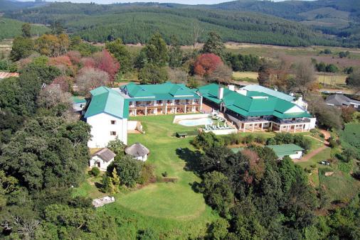 View of Magoebaskloof Hotel