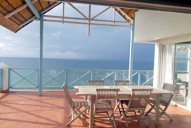 1/17 - Patio and view of Ocean
