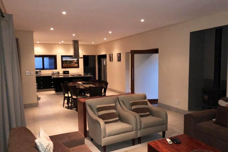 Open space living, fully equipt!