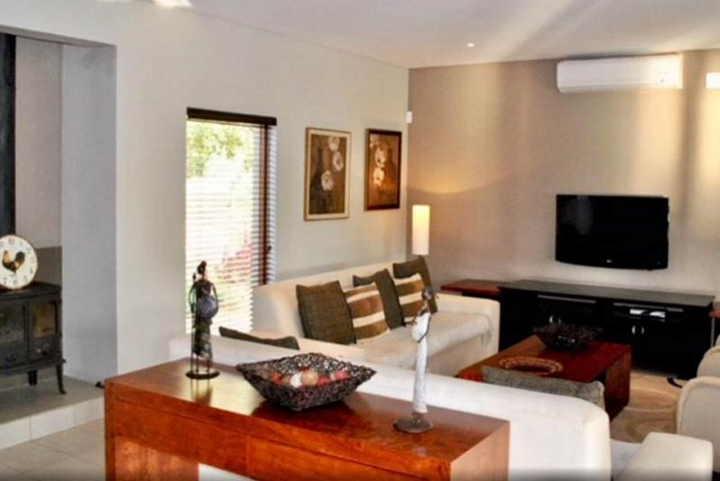 Lounge with full aircon and DSTV premium
