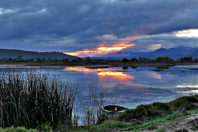 1/20 - Sedgefield Sunset