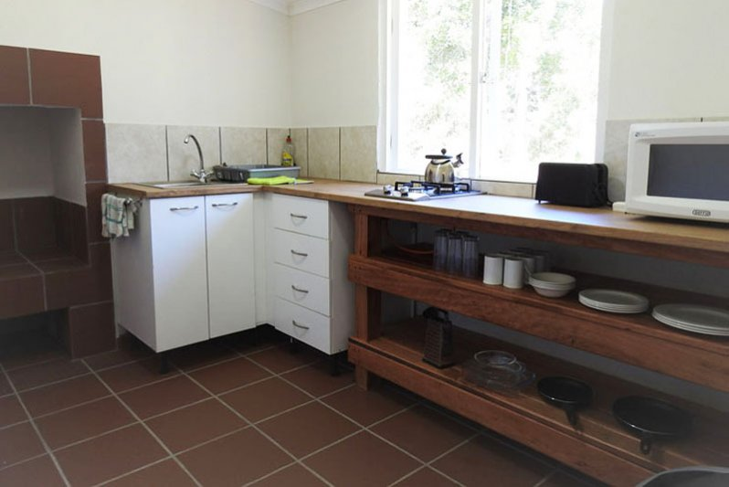 Bushbuck Cottage Kitchen