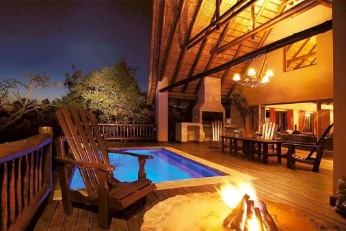 View of Mingwe Private Game Lodge