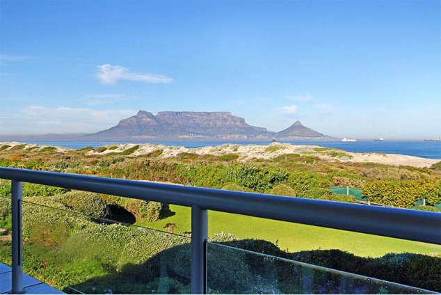 1/24 - View of Table Mountain from the deck
