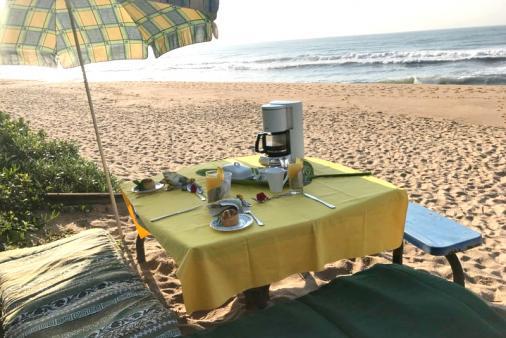 1/25 - Our beach table