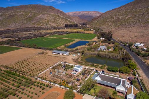 View of Mirtehof Guest Farm Estate
