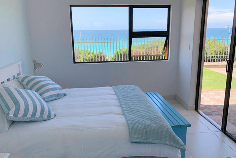Bedroom 1. Double bed and en- suite bathroom