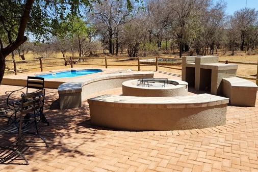 View of Nageng Lodge at Mabalingwe