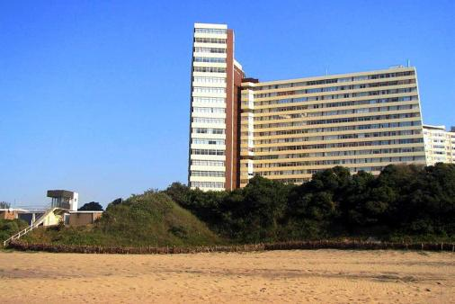 1/9 - Exterior from beach