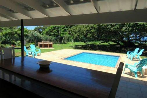 1/20 - Swimming pools and braai area viewed from the veranda
