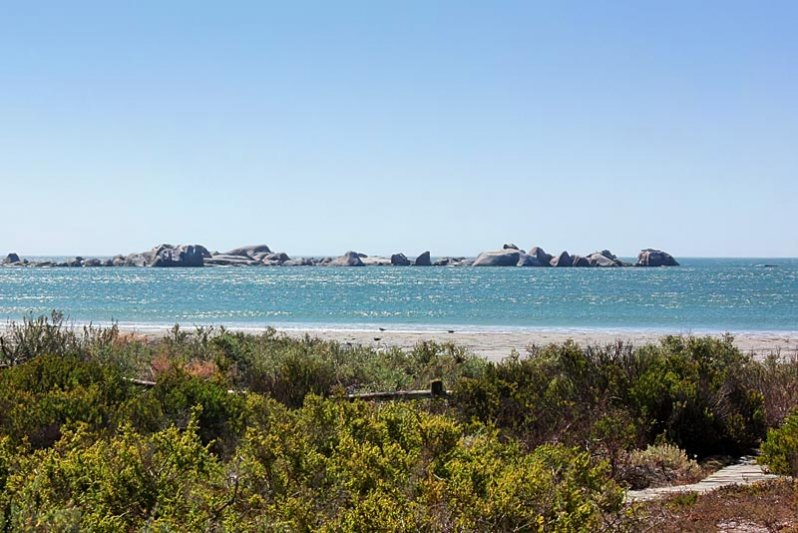 View of the White Paternoster Rocks