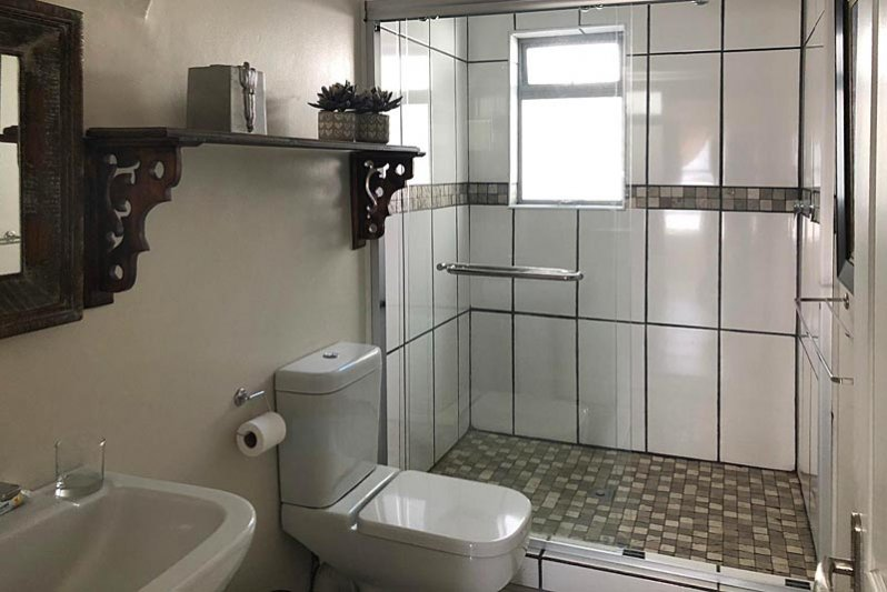 Spacious showers in all bathrooms