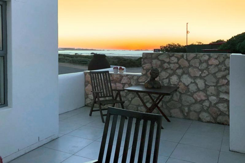 Sunset from the patio area